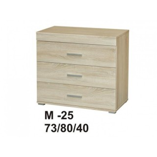 Marino II komoda 80 3s