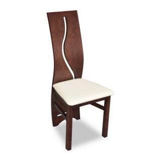 Krzesło RK-3 drewniane buk tapicerowane