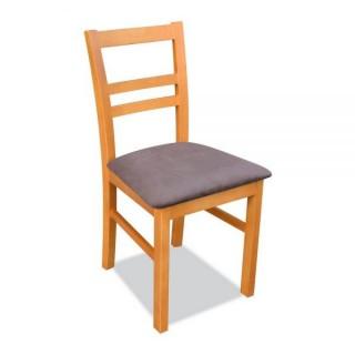 Krzesło RK-10 drewniane buk tapicerowane