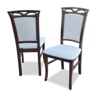 Krzesło RK-12 drewniane buk tapicerowane