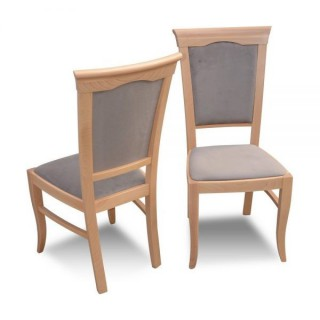 Krzesło RK-13 drewniane buk tapicerowane