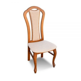 Krzesło RK-16 drewniane buk tapicerowane