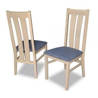 Krzesło RK-32 drewniane buk tapicerowane