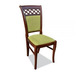 Krzesło RK-52 drewniane buk tapicerowane