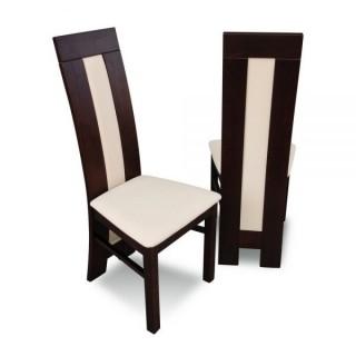 Krzesło RK-60 drewniane buk tapicerowane