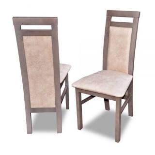 Krzesło RK-75 drewniane buk tapicerowane