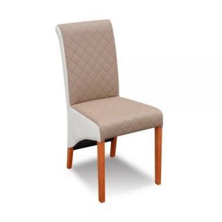 Krzesło RK-77 drewniane buk tapicerowane