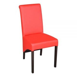 Krzesło RK-77 A drewniane buk tapicerowane