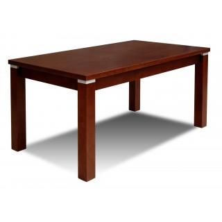 Stół RS-18-S prostokątny rozkładany z drewna bukowego orzech