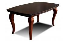 Stół RS-23 fornir orzech 100x170x250 rozkładany z drewna bukowego
