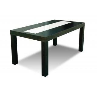 Stół RM S25-1S drewniany buk rozkładany z szybą 90x160