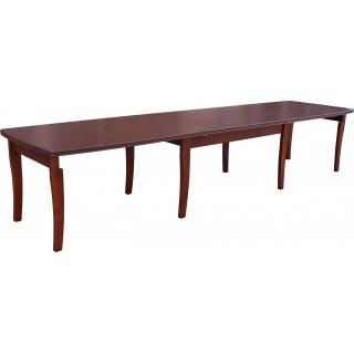 Stół RS- 26 duży drewniany buk rozkładany 100x160x400 fornirowy