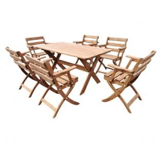 Meble ogrodowe stół i 6...