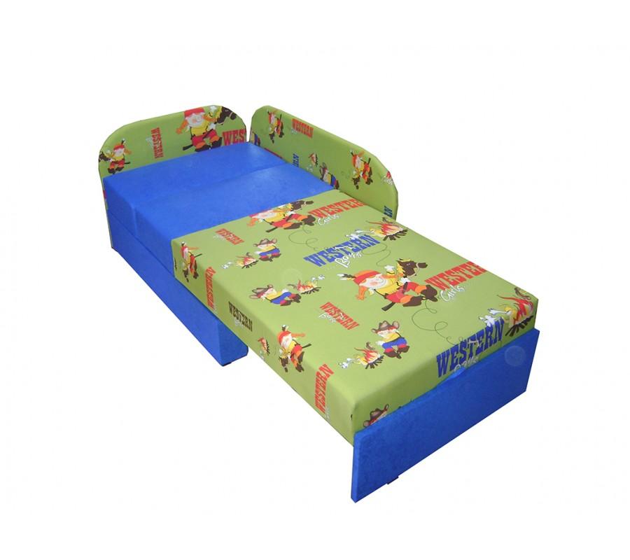 łóżko Dziecięce Kubuś Tapczan Rozkładany Meblotranspl