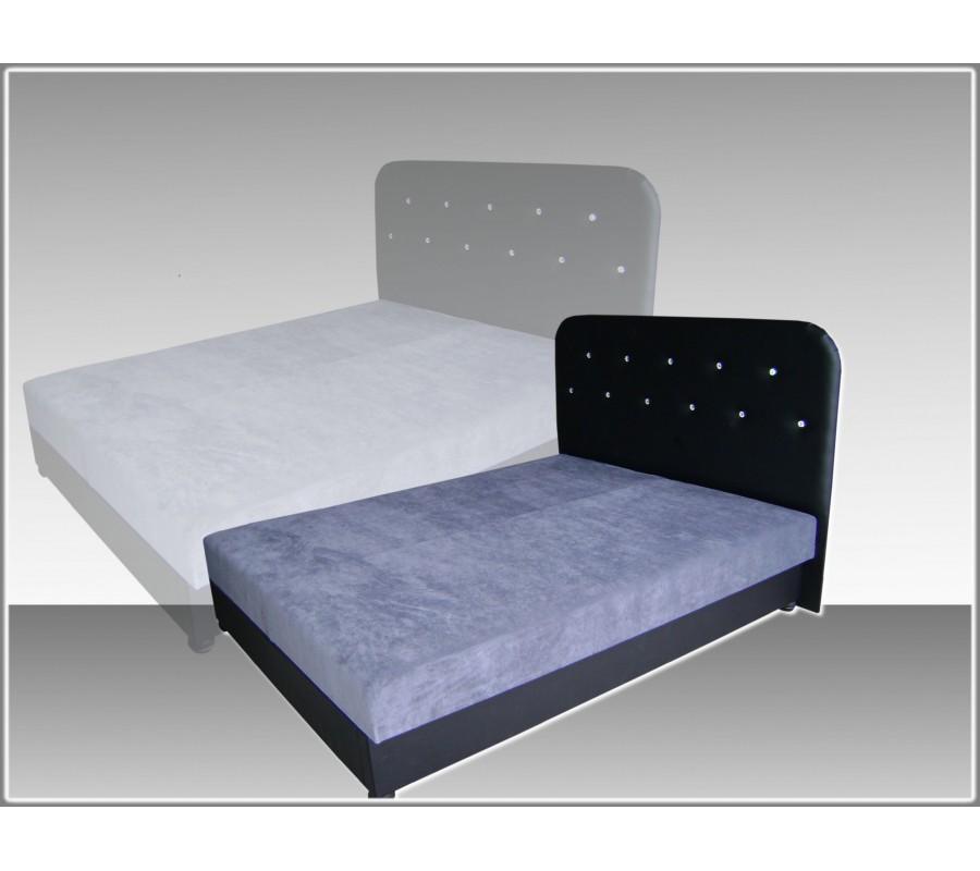 łóżko Tapicerowane Nicola I 140 X 200 łóżka Na Wymiar