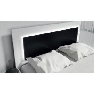 Łóżko ROMA z oświetleniem LED