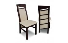 Krzesło RK-61 drewniane buk tapicerowane