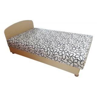 Łóżko Julka z pojemnikiem na pościel i regulacją podgłówka