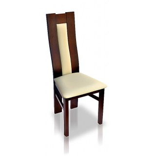 Krzesło RK - 41A  drewniane buk tapicerowane