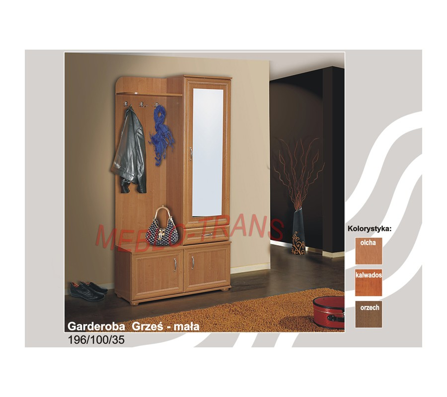 Garderoba GRZEŚ - mała - MebloTrans.pl - internetowy sklep meblowy