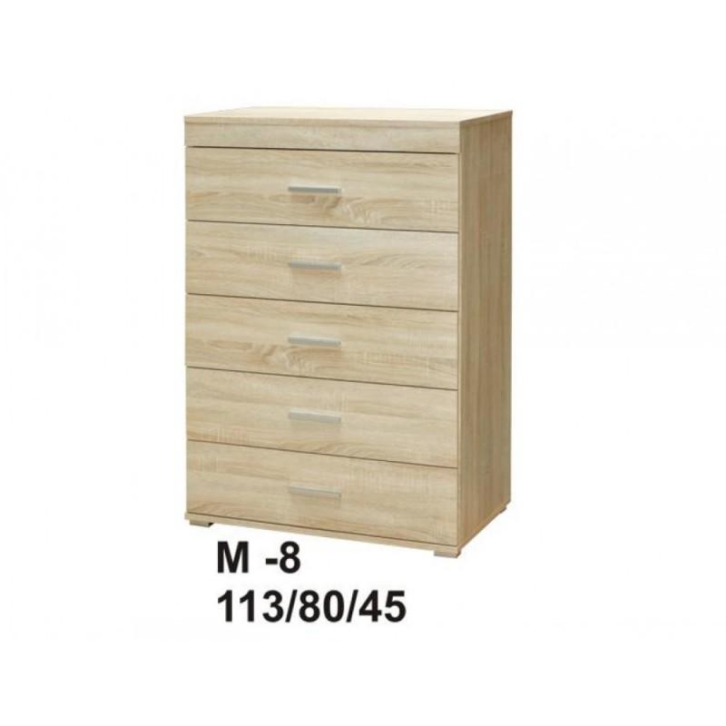 Marino II komoda 80 5s