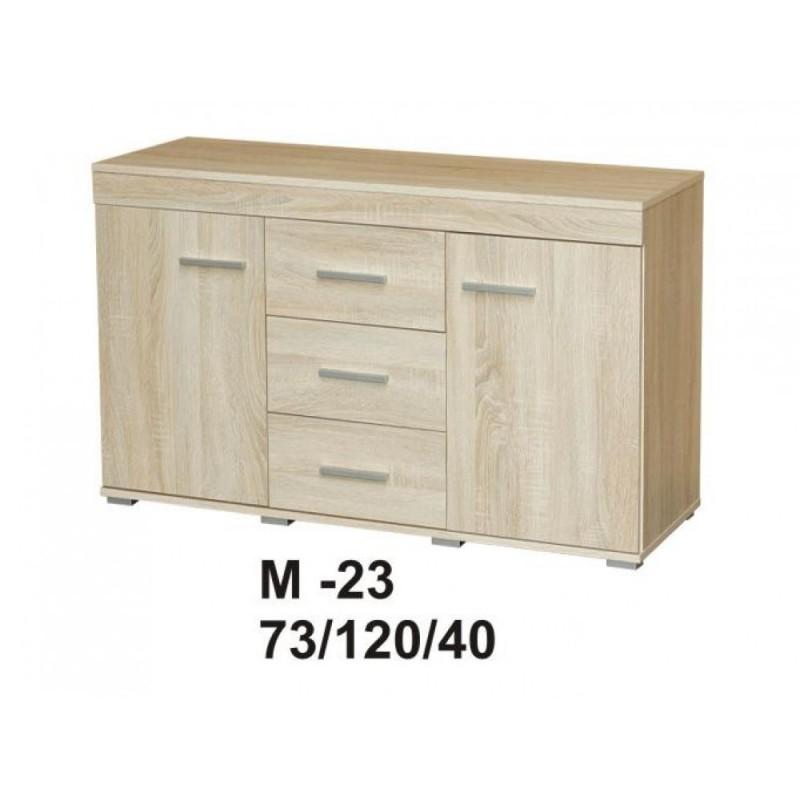 Marino II komoda 120 2d3s