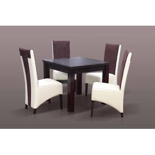 4 krzesła i stół idealny do jadalni