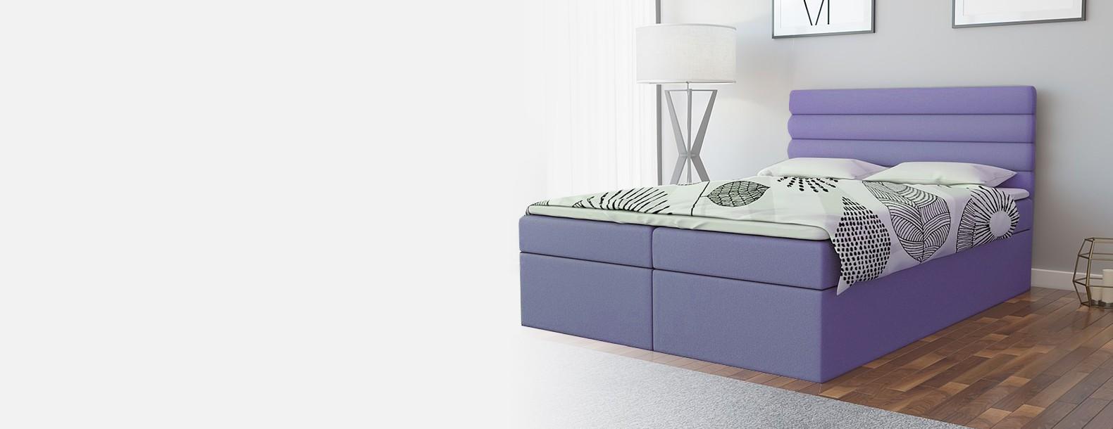 Łóżko kontynentalne OLIMP